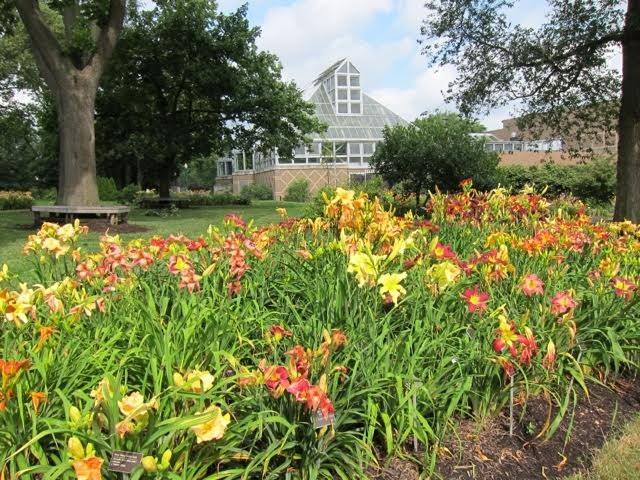 Ohio Hybridizers' Garden at Franklin Park Conservatory